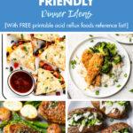30 Easy Healthy Acid Reflux Dinner Ideas
