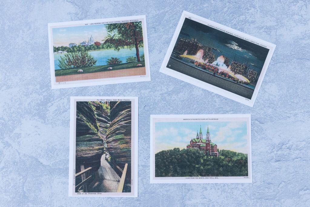 Vintage Postcard Prints OddPrints