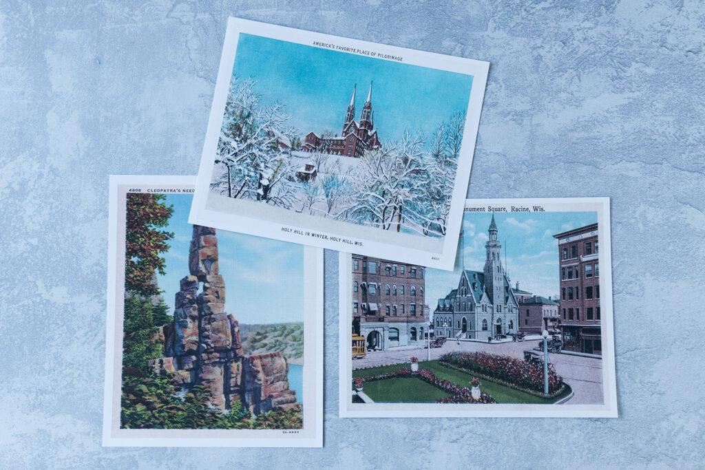 Vintage Postcard Prints 8x10