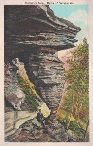 Vintage Postcard Wisconsin Dells Hornets' Nest 2