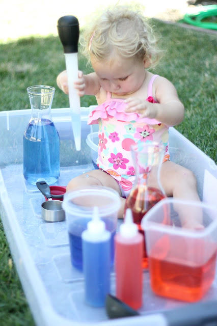 4th of July Color Lab Toddler Approved