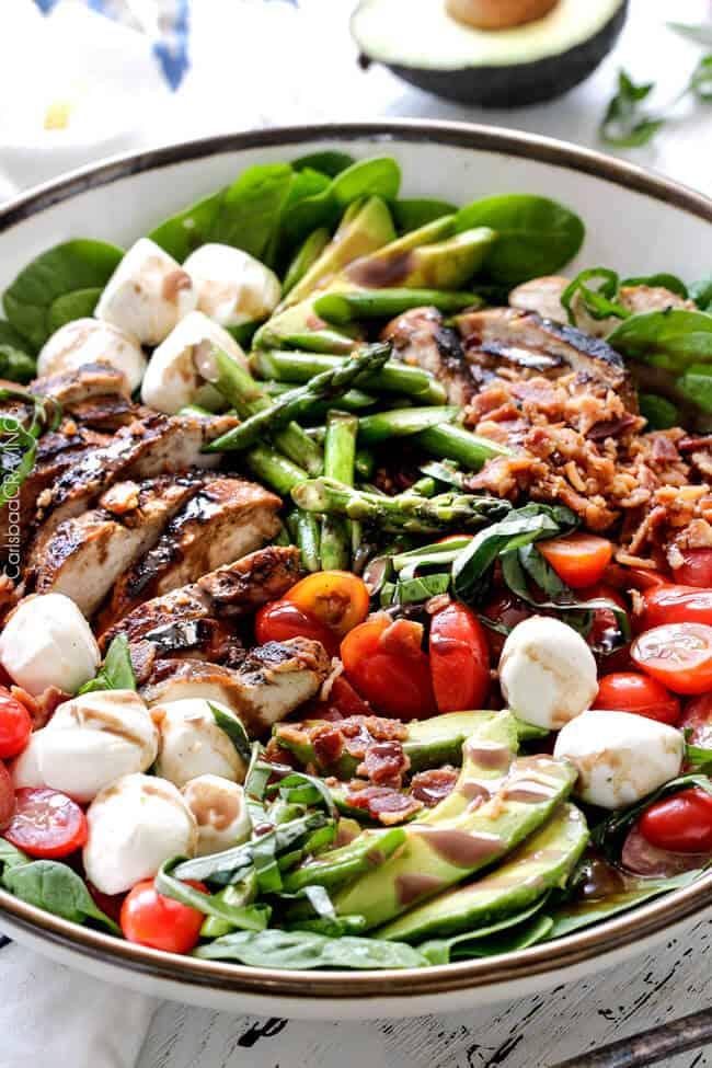 Caprese Chicken Salad Carlsbad Cravings