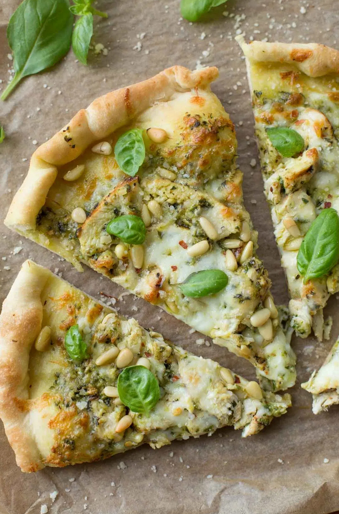Chicken Pesto Pizza Life Made Simple