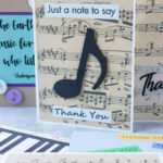 DIY Music Teacher Thank You Cards