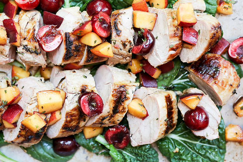 Grilled Pork Tenderloin Floating Kitchen