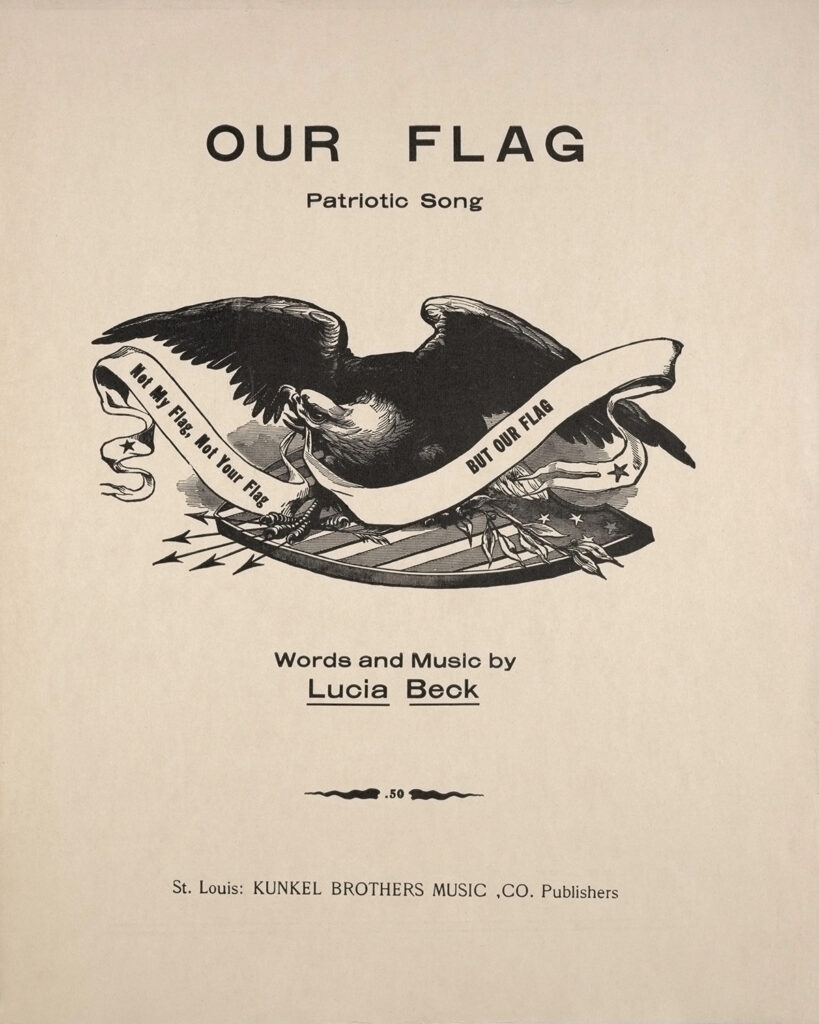 Our Flag Cover