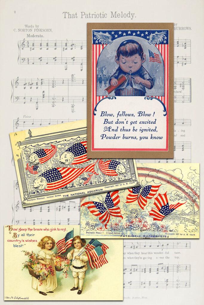 Patriotic Postcards