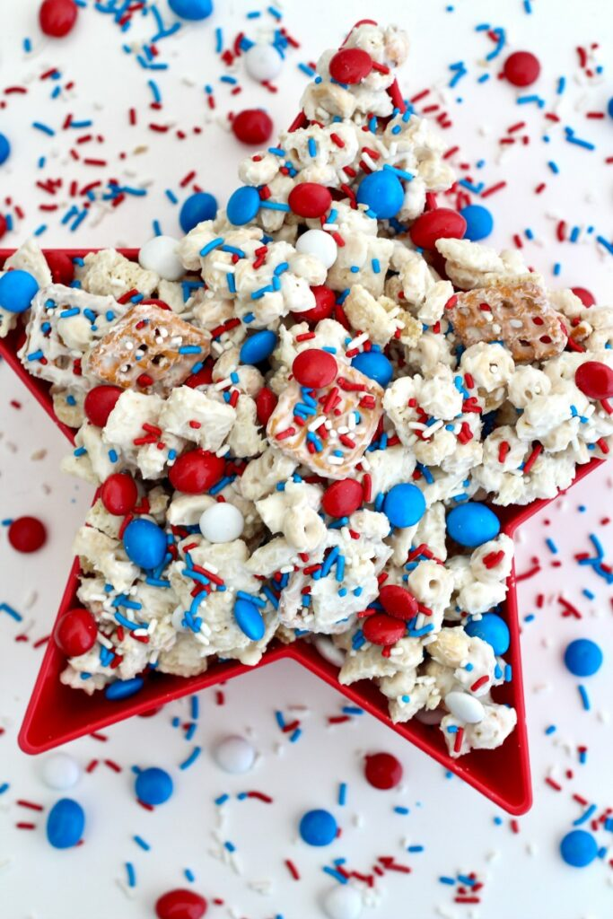 Patriotic Snack Mix The Baker Mama