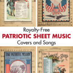 Royalty Free Patriotic Sheet Music Covers and Songs