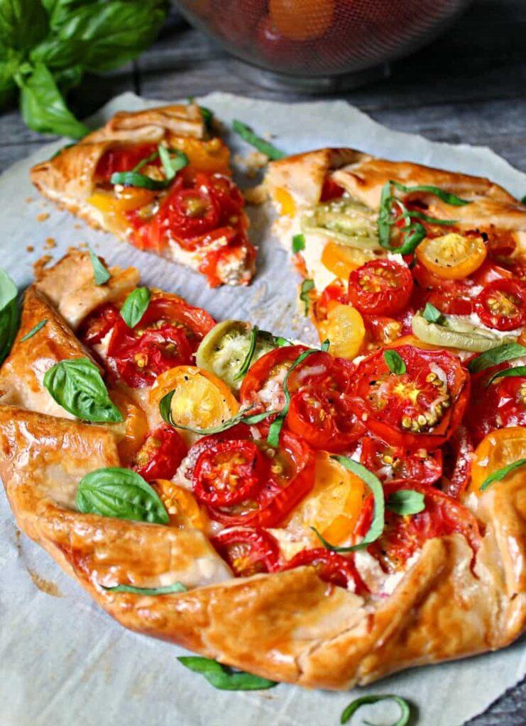 Tomato Galette A Gouda Life