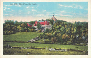 Vintage Postcard Holy Hill From the South