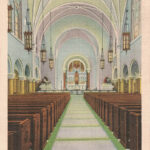 Vintage Postcard Holy Hill Interior of the Church at Holy Hill