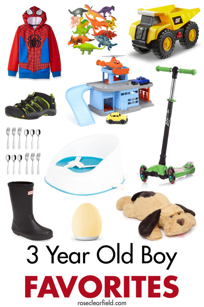 3 Year Old Boy Favorites