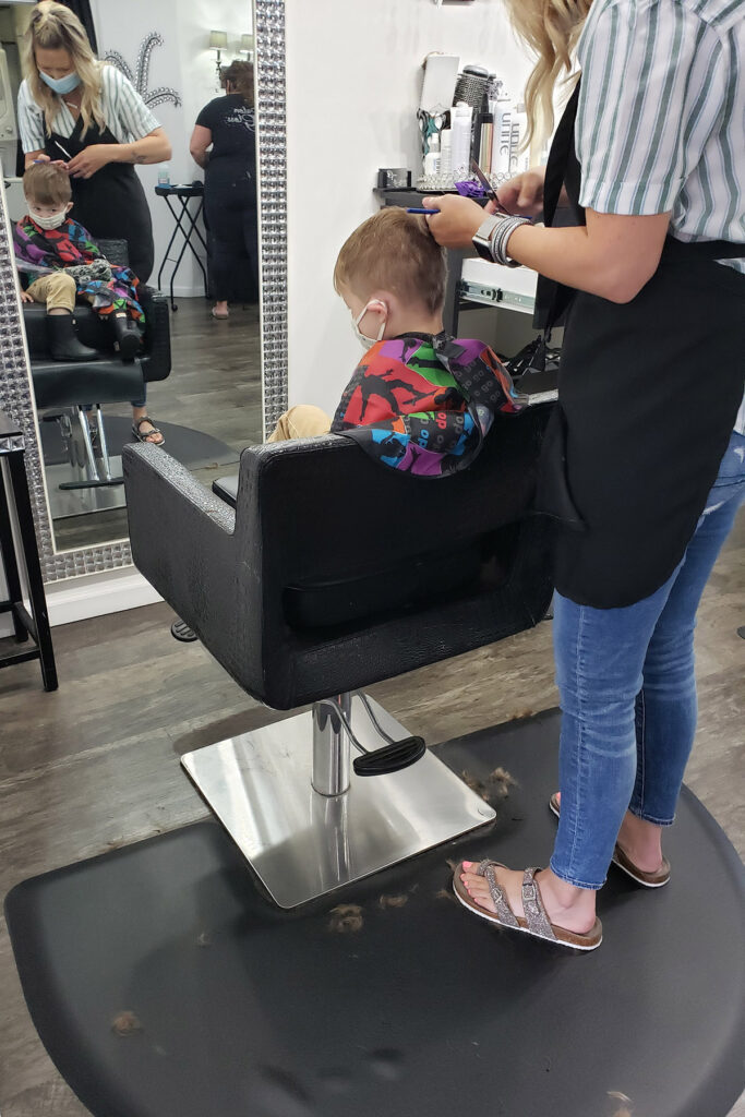 Toddler Haircut