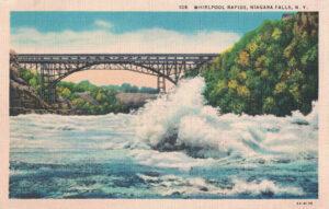 Vintage Postcard Niagara Falls Whirlpool Rapids
