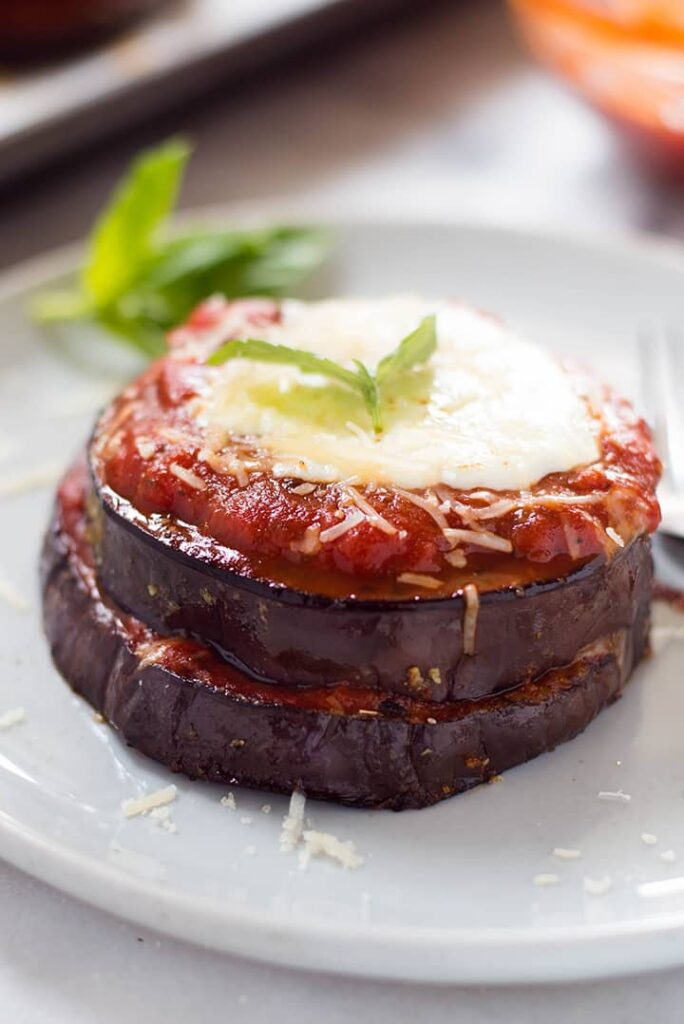 Baked Eggplant Parmesan A Sweet Pea Chef