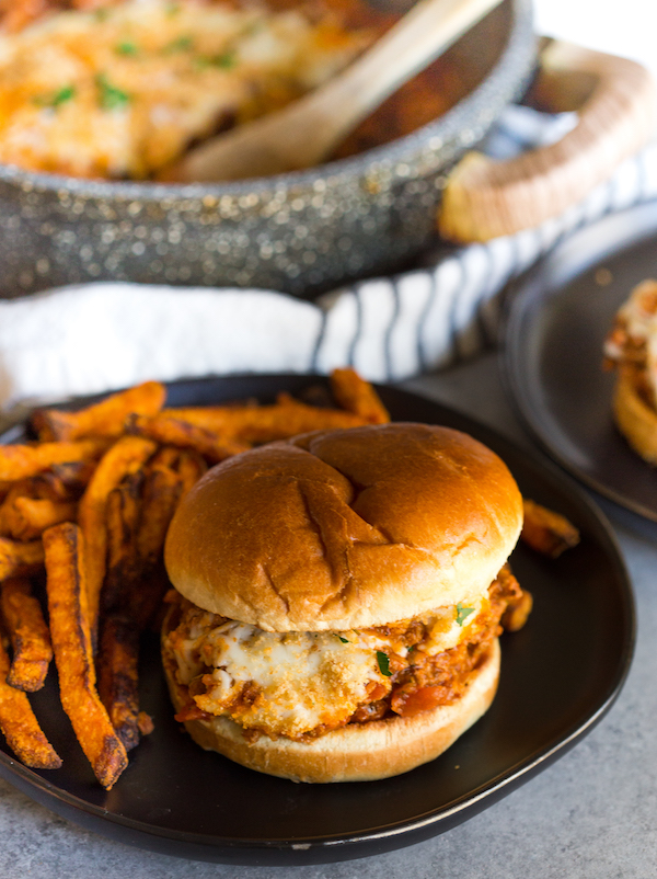 Chicken Parmesan Sloppy Joes Greens and Chocolate