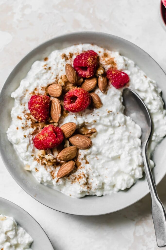 Cottage Cheese Breakfast Bowl The Almond Eater