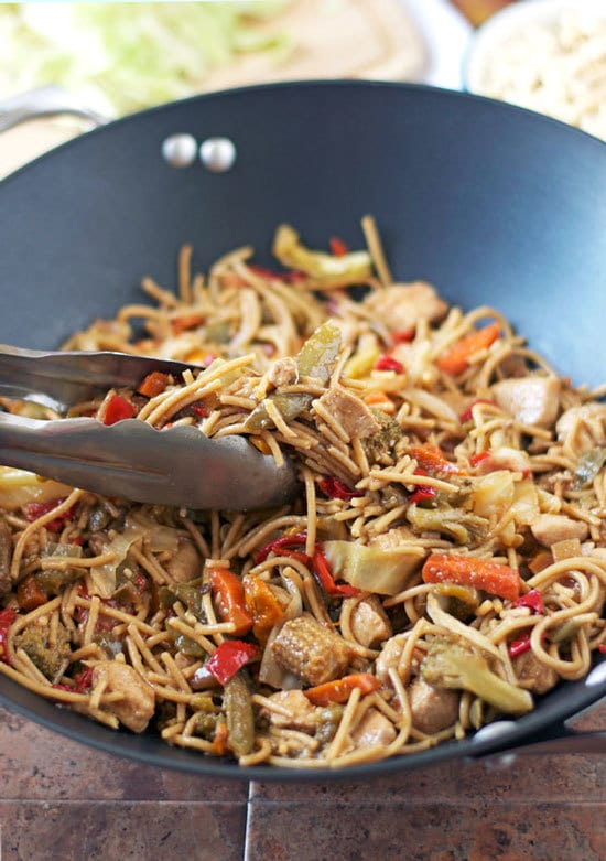 Hot and Sour Noodles with Peanut Chicken Recipe Well Plated