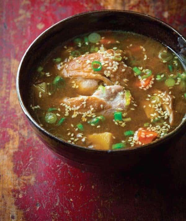 Slow Cooker Chicken Thigh Hot Pot The Lemon Bowl