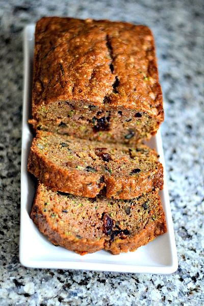 Spiced Zucchini Carrot Bread Peanut Butter Runner