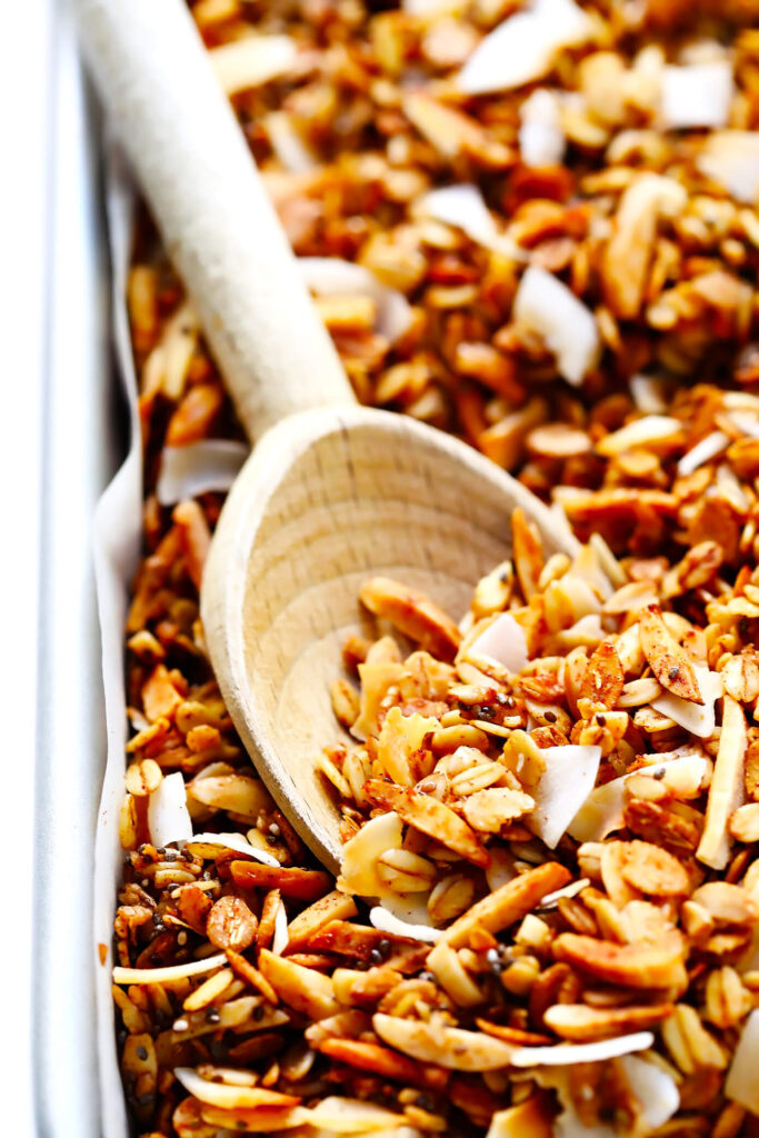 The Best Healthy Granola Recipe Gimme Some Oven