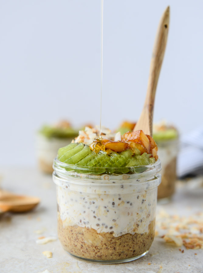 Toasted Coconut Overnight Oats How Sweet Eats