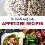 30 Quick Autumn Appetizer Recipes