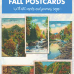 A Vintage Collection of Free Printable Fall Postcards