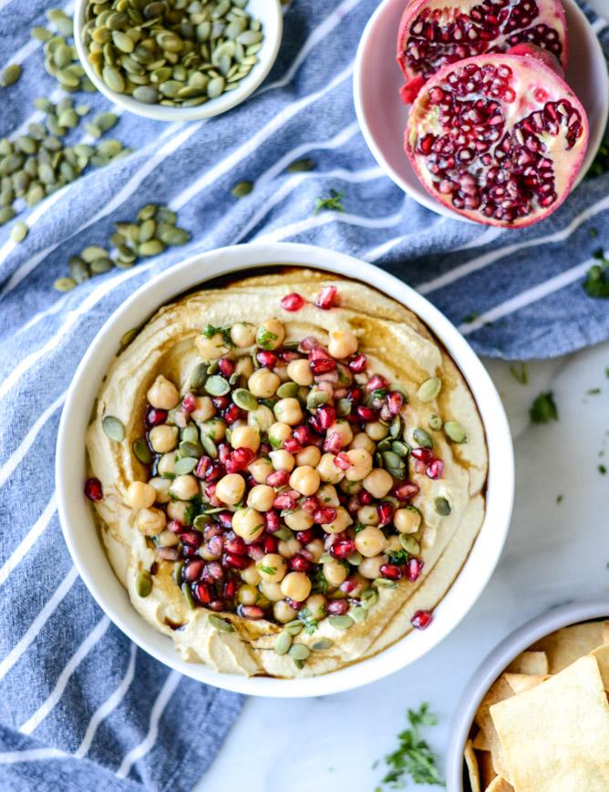 Butternut Squash Hummus How Sweet Eats