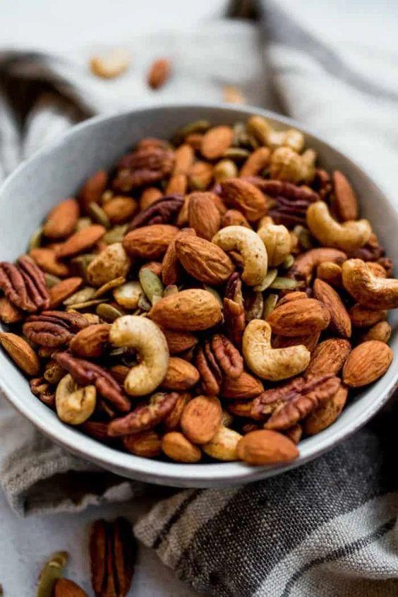 Cinnamon Orange Roasted Nuts Reluctant Entertainer