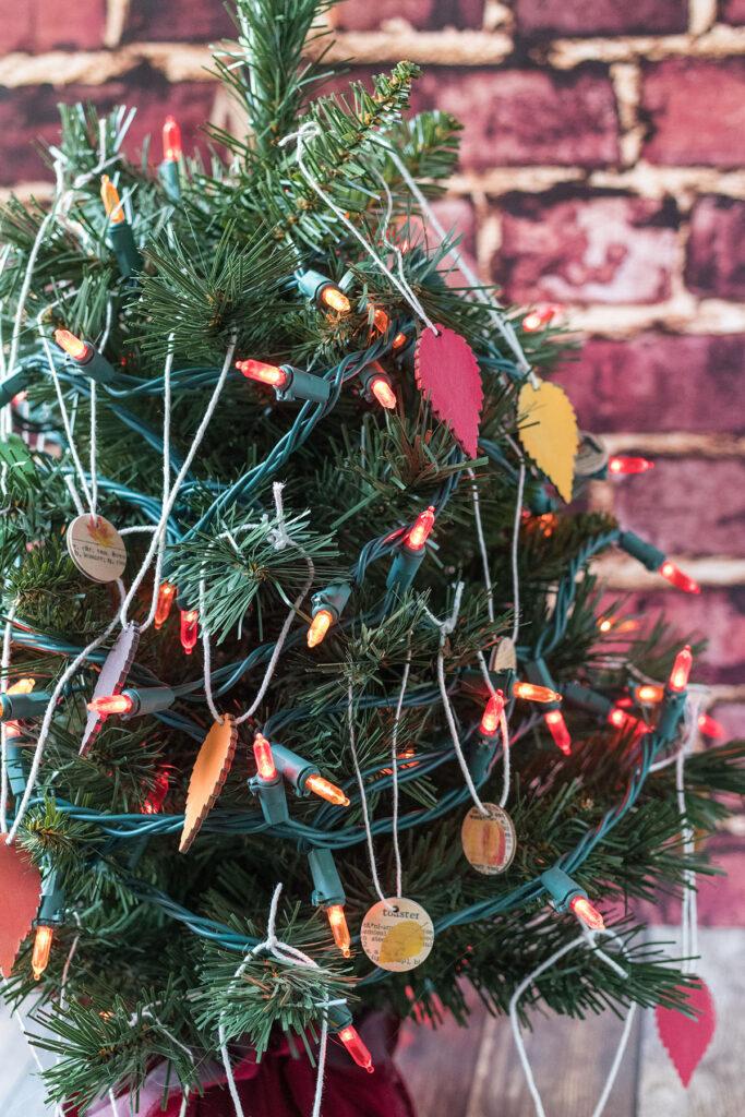 DIY Mini Fall Tree