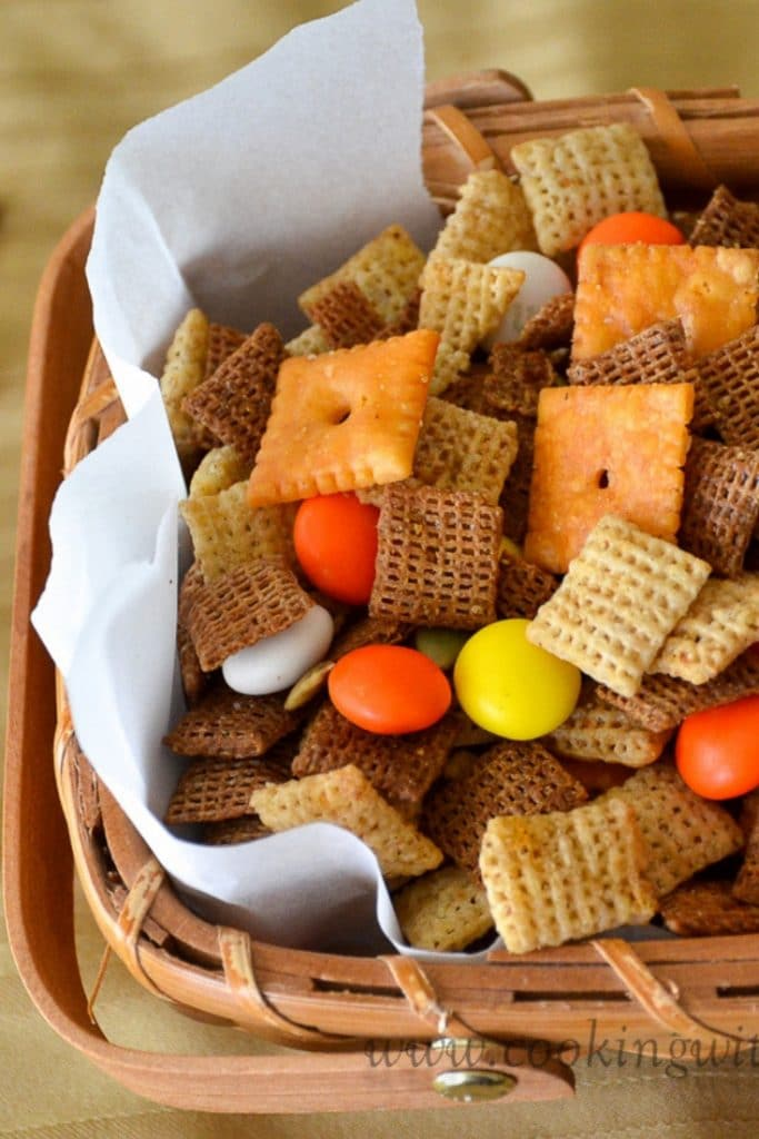 Fall Harvest Chex Mix Cooking With Libby