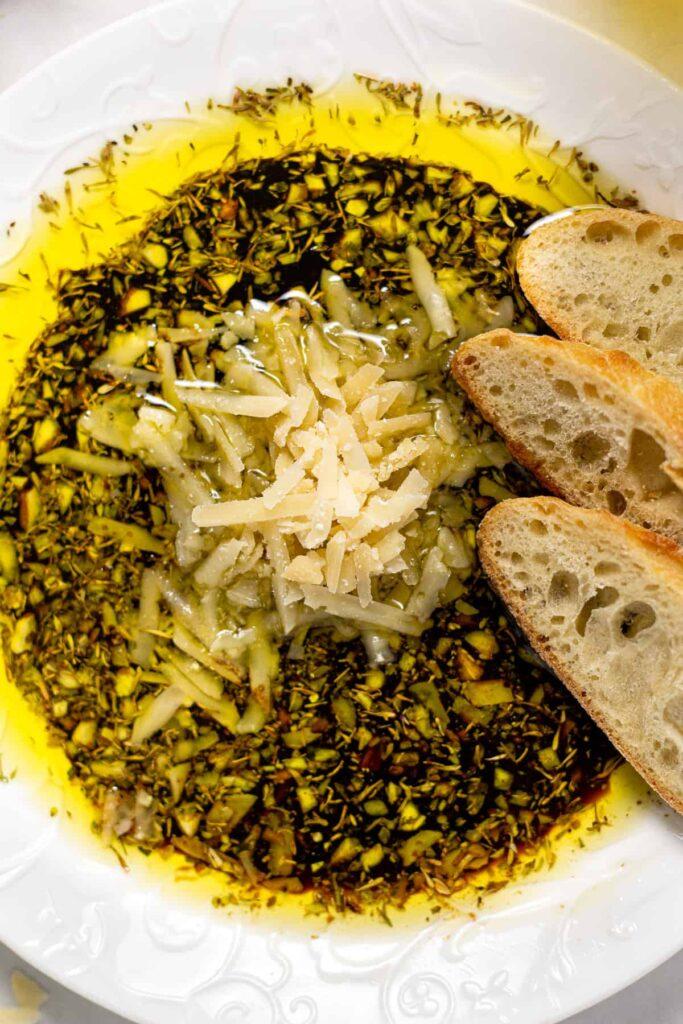 Olive Oil Balsalmic Vinegar Bread Dip Midwest Foodie