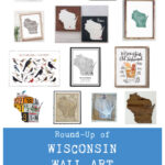 Round-Up of Wisconsin Wall Art Gift Ideas