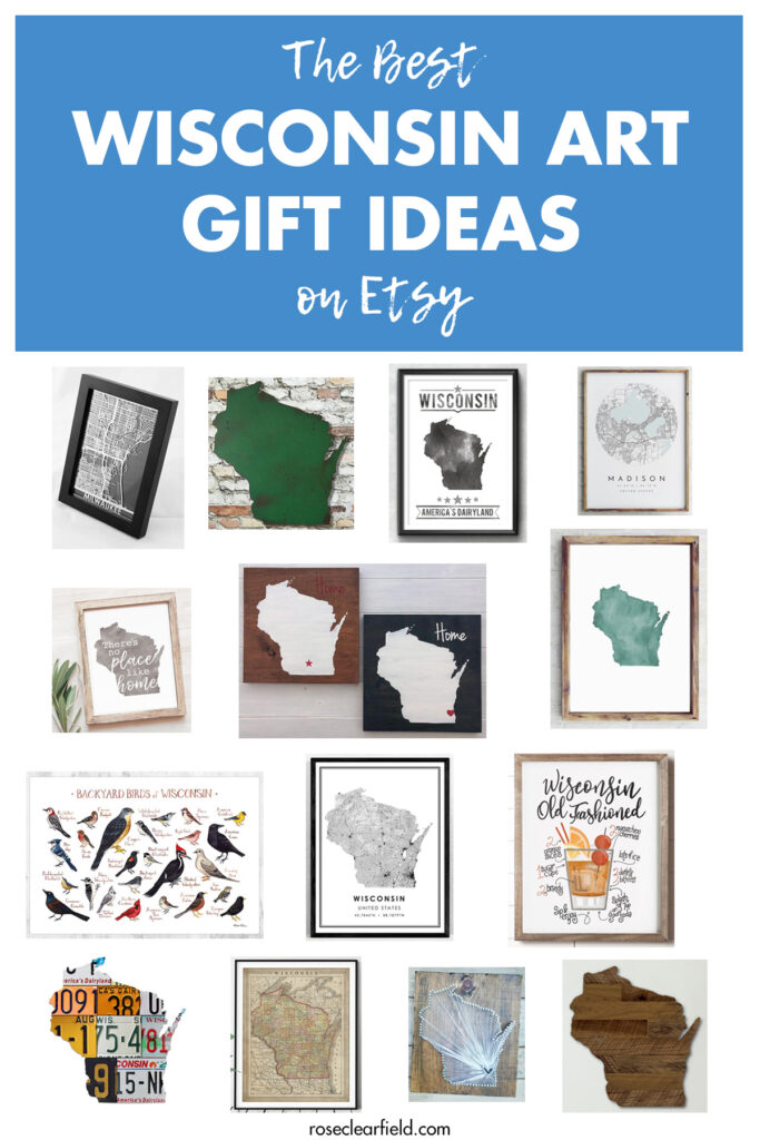 The Best Wisconsin Art Gift Ideas on Etsy