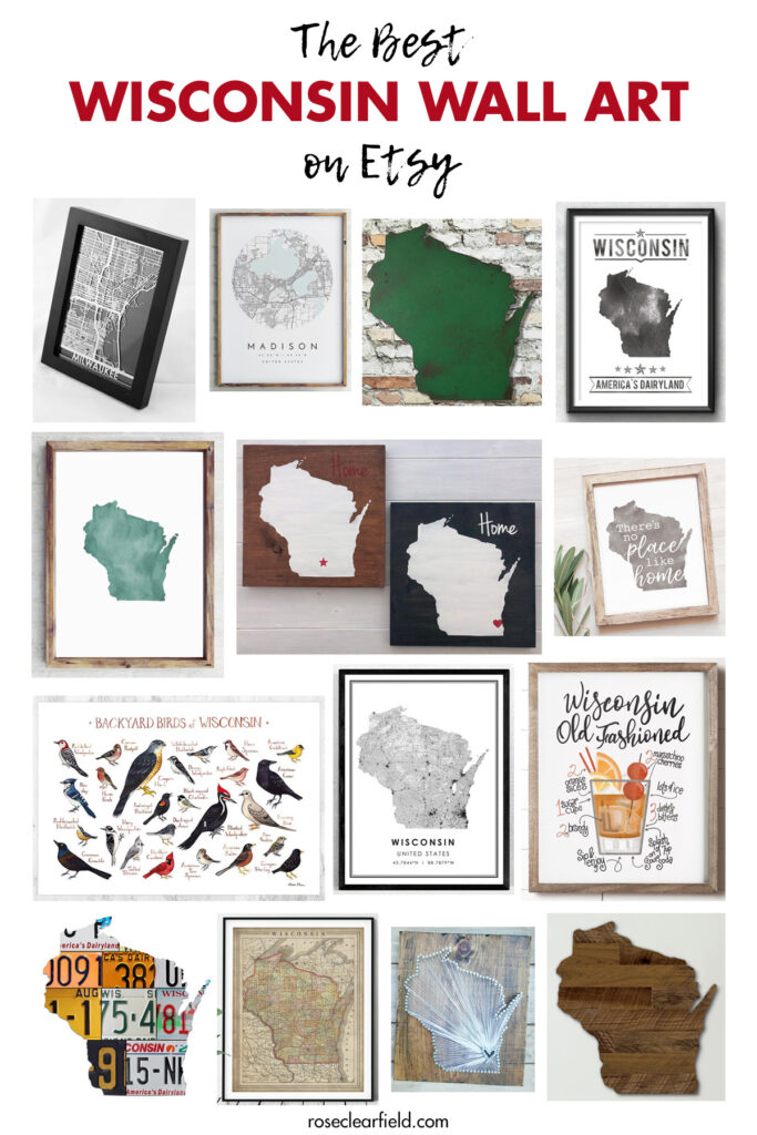 The Best Wisconsin Wall Art on Etsy