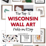 The Top 16 Wisconsin Wall Art Picks on Etsy