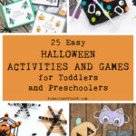 25 Easy Halloween Activities and Games for Toddlers and Preschoolers