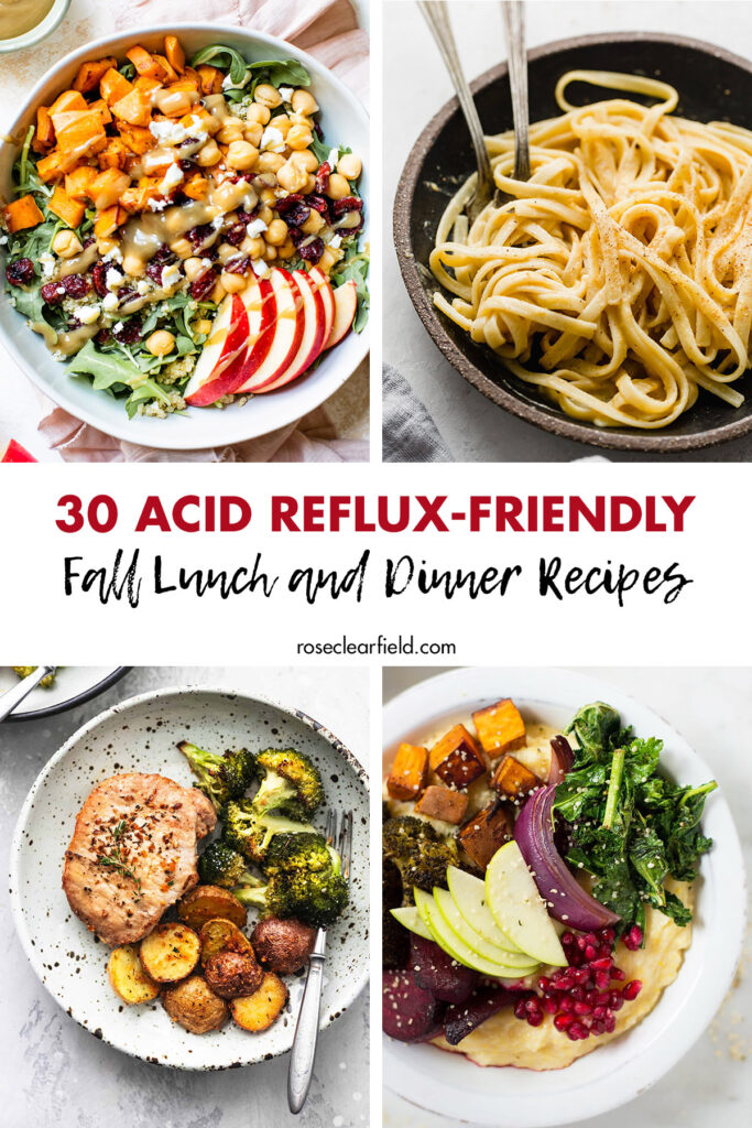 30 Acid Reflux-Friendly Fall Lunch and Dinner Recipes