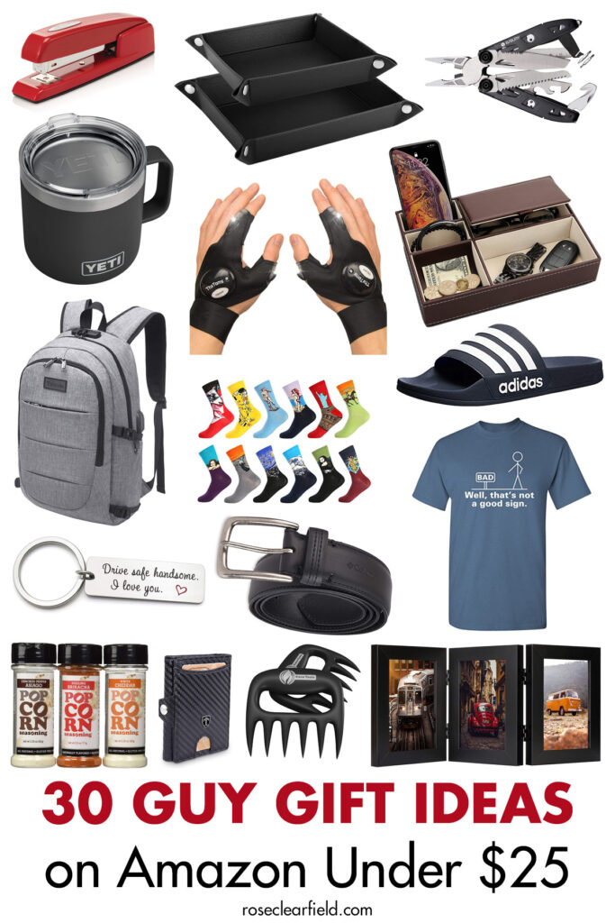 30 Guy Gift Ideas on Amazon Under $25