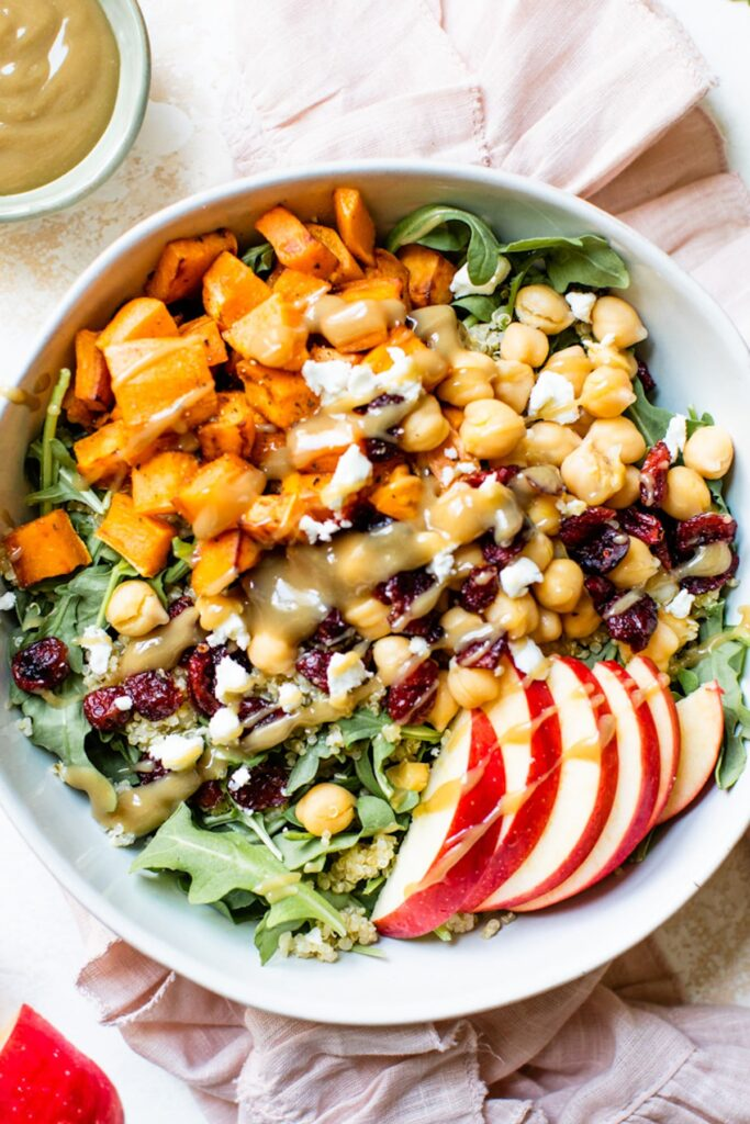 Autumn Harvest Bowl The Almond Eater