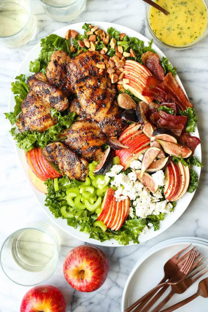 Chicken Harvest Salad Damn Delicious