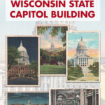 Free Printable Vintage Postcards Wisconsin State Capitol Building