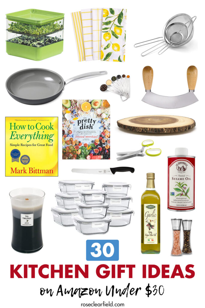 30 Kitchen Gift Ideas on Amazon Under $30