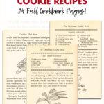 Free Printable Vintage Christmas Cookie Recipes