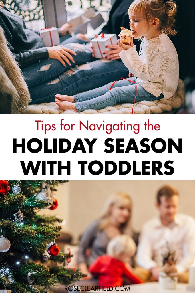 Tips for Navigating the Holiday Season with Toddlers