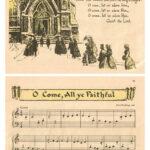 Vintage Beginner Piano Christmas Carols O Come All Ye Faithful Preview