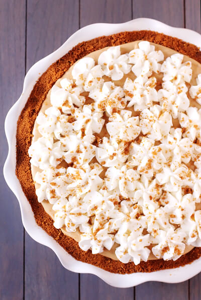 Biscoff Pie Gimme Some Oven