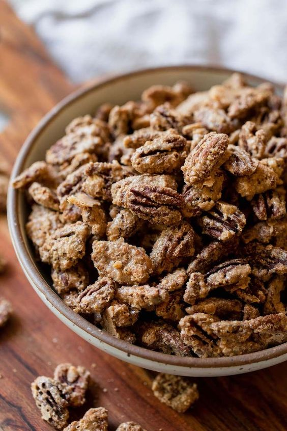Candied Pecans Live Well Bake Often